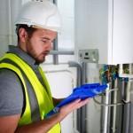 Heating engineer - boiler service