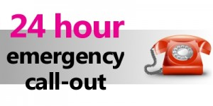 24 hour emergency call-out
