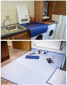 Carpet and surface protector
